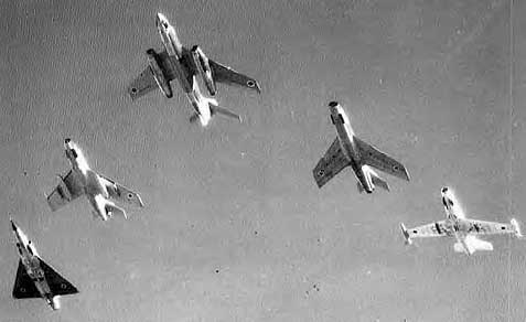 Today, 46 years ago, the IAF decimated 3 Arab air forces.