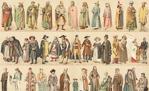 France - jewish-medievel-costumes