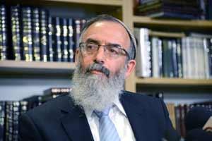Rabbi David Stav (Photo by Yossi Zeliger/Flash 90)