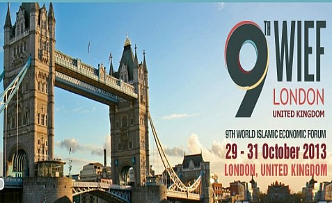 London will host the World Islamic Economic Forum in October, 2013, the first WIEF to be held in a western country.