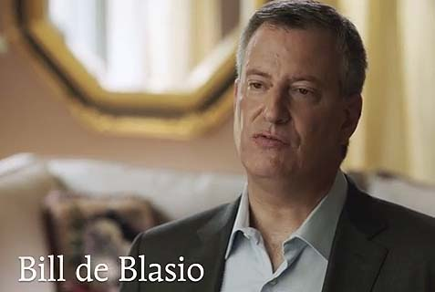 Bill de Blasio commercial