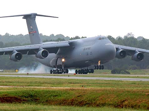 I had the opportunity on a number of occasions in October of 1973 to be present at the international airport in Lod and to watch the military C-5 Galaxy planes landing, packed with goods. At the time, we were out of everything.