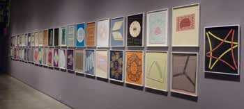The Papercut Haggadah (1998-2007) (installation detail), 55 pages cut paper by Archie Granot. Collection of Sandra and Max Thurm