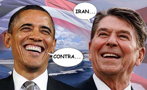 reagan and obama