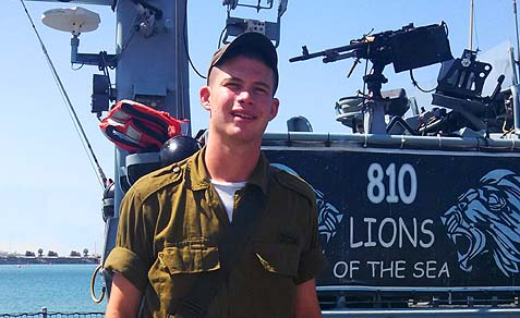 Sgt. Brandon Berry, originally from Maryland, is now serving in the Israel Navy.