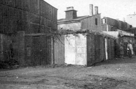 Lodz Ghetto Sukkah