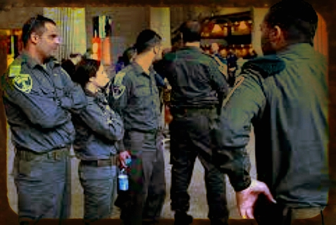 Israeli security at Ben Gurion International Airport