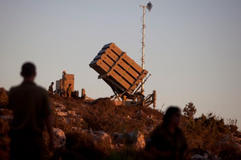 .Iron Dome in Jerusalem