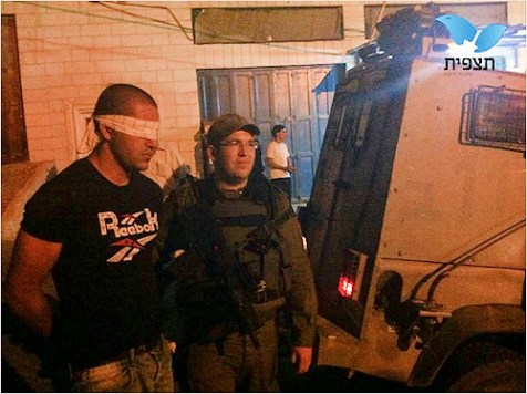 Kiryat Arba Terrorist Caught