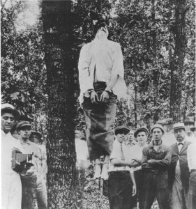 The lynching of Leo Frank