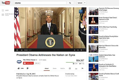 Obama YouTube Wars