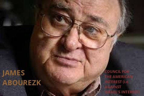 James Abourezk, former South Dakota politician behind anti-Israel Alison Weir's appearances in South Dakota