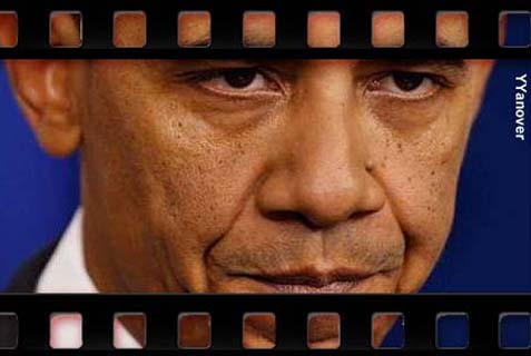 Obama says the world is more stable than five years ago. What movie is he watching?