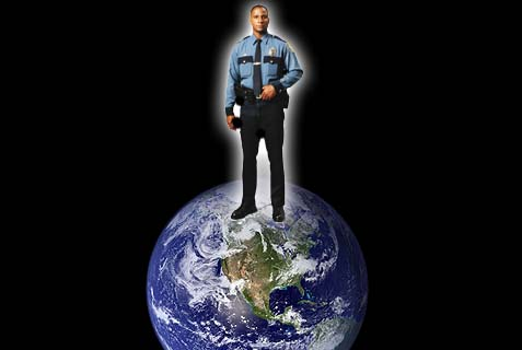 us policeman of world