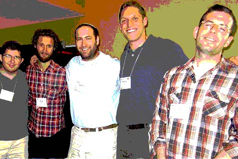 A group of YCT rabbis.