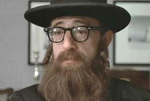 "Woody Allen as a rabbi in ""Annie Hall,"" using his Jewish heritage for the comic effect while, in reality, having precious little to do with anything Jewish."