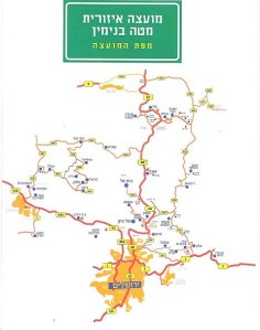 binyamin map 2011