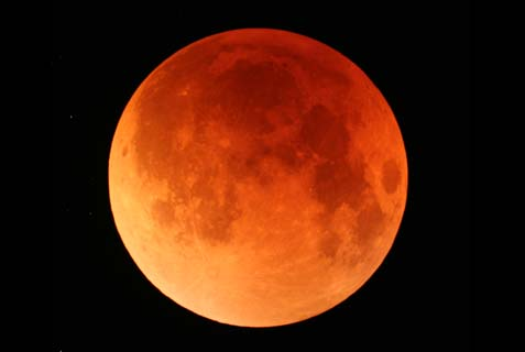 "There will be a string of four ""blood moons"" in the year 5775, and one of them will shine over the Passover seder. Whenever this happened in the past, enormous events took place in Jewish history."