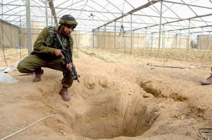 Underground tunnel found near the Egyptian border. (file)