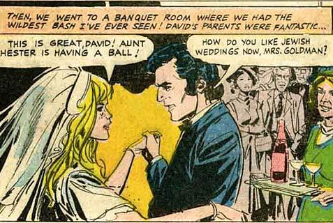 """From """"When Jewish David Met Irish Eileen,"""" by Eli Valley."""
