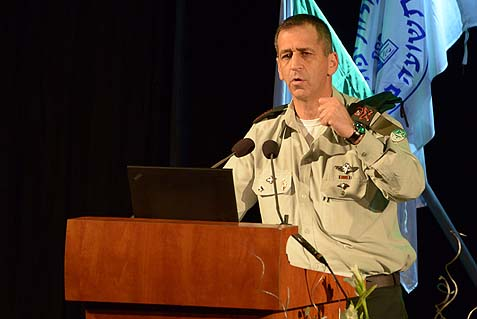 ead of IDF Intelligence Major General Aviv Kochavi speaking at last week's conference.