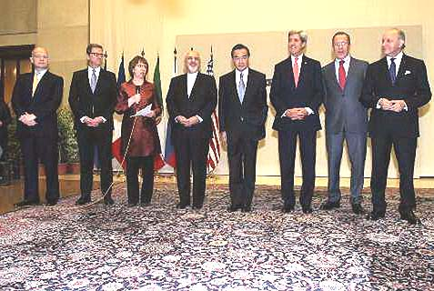 Iran officials meet with G 5+1 officials in Geneva. Weapons to Gaza will not derail the talks.
