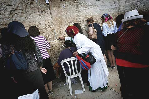 It's Rosh Chodesh Kislev – and there are only these ladies from all walks of life and all varieties of observance, no fuss, no rallies, at the Kotel.