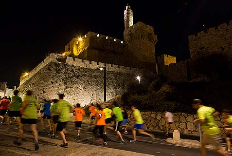 Last Night's Jerusalem Mini Marathon