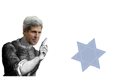 John Kerry scolded and threatened the Jewish State in a television interview on Nov. 7, 2013