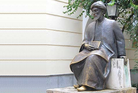 A statue of Moses Maimonides at the Jewish quarter of Cordoba, where the great Torah scholar and philosopher was born in 1135. He taught us much of what we practice today regarding Christianity and Islam.
