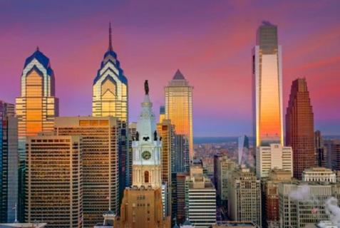 Photo of Philadelphia on the Israeli Mid-Atlantic Region Consulate website