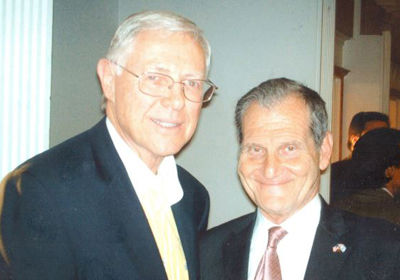 Michael D. Antonovich (left) and Andrew Friedman.