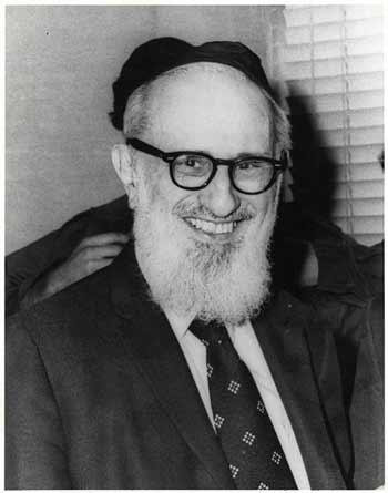 The Rav  (Photos courtesy of Yeshiva University)