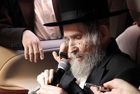 Rav Aharon Yehuda Leib Shteinman