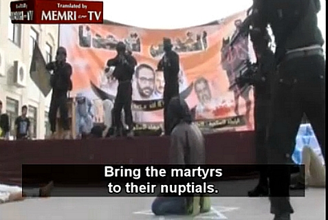 MEMRI video of demonstration at Al-Quds University on Nov. 5, 2013