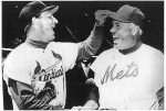 Fifty years ago Stan Musial (left) was in the final season of an illustrious career with the St. Lois Cardinals while former Brooklyn Dodger Duke Snider was playing his only season in a New York Mets uniform.