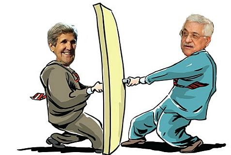 Kerry and Abbas - which one is trying to open the door and which one is trying to close it?