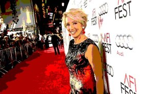 Emma Thompson in 2012 Thomson and three dozen other artists joined the BDS movement by publishing a letter protesting the Habima theater group's participation in last year's Shakespeare festival in England.