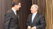 It started out so nice, with Prime Ministers Netanyahu (R) and Rutte having a chummy time at the Dan Accadia hotel in Herzliya on Sunday. It went downhill from there for both the visiting premier and his foreign minister.