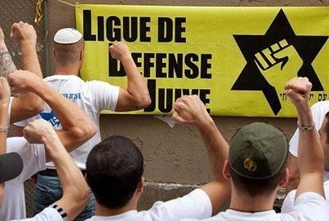 "On Tuesday, LDJ wrote on its Twitter account: ""Two major punitive actions were carried out Saturday and Sunday in Lyon against people who performed the quenelle. The little Nazis are no longer at ease!"""