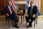 Secretary of State Kerry and Prime Minister Netanyahu.