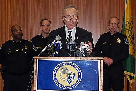 New York Senator Chuck Schumer (D)
