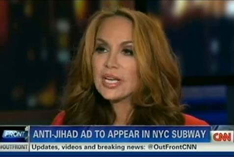 Pamela Geller interviewed on CNN (archive)