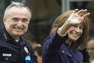 Bratton and Klieman when he was police chief of Los Angeles.