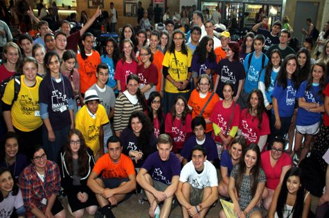 New students from all over the world arrived in Israel to start the new year at the end of August.