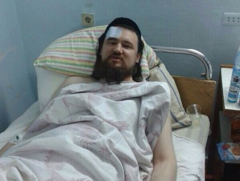 An Orthodox student in the Ukraine was attacked and stabbed in January 2014.