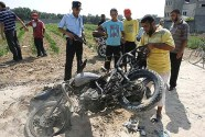 An Islamic Jihadist was taken out in Gaza by a rocket from an Israeli aircraft, after defying the Hamas government order to stop launching rockets at Israel. Only his motorcycle remained more or less intact. For now, Hamas and Israel are maintaining a tense truce.