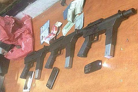 The IDF caught Palestinian Arabs trying to smuggle these guns into urban areas of Israel.