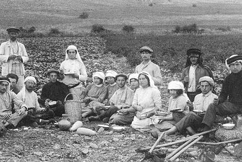 "These were the ""Biluim,"" Russian Zionists who came to Palestine in the 1880s, dressed like Arabs, worked in the fields and paved roads like Arabs, and got paid like Arabs. At night they sat around the fire with a garmoshka, played Zionist songs and slept under the starry skies. Now, 100,000 more Jews may be given the opportunity to do the same…"