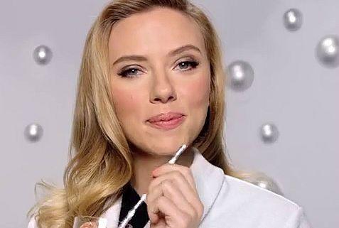 Scarlett Johansson uttered four naughty words, and Fox News censored her SodaStream Super Bowl commercial.